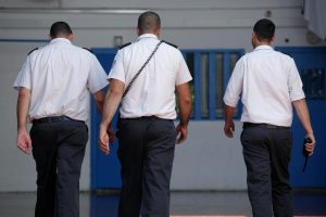 """מעצר בבימ""""ש השלום בראשל""""צ. צילום: פלאש 90"""