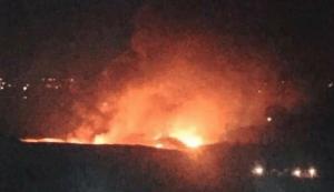 """חיל האוויר תקף עשרות מטרות צבאיות בדמשק. נתניהו: """"הבהרתי שמי שיפגע בנו – אנו נפגע בו"""""""