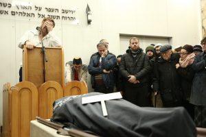 הלוויית יפה גליק כעת בהר המנוחות בירושלים. צילום: הלל מאיר, TPS