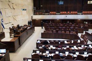 חברת הכנסת שרן השכל במהלך דיוני הוועדה. צילום: מרים אלסטר, פלאש 90
