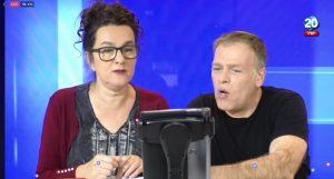 """הערב: עירית לינור ואראל סג""""ל במשדר פייסבוק לייב"""
