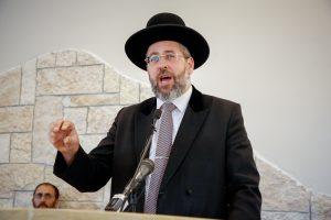 הרב הראשי דוד לאו. צילום: פלאש 90
