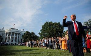 טראמפ, הבית הלבן