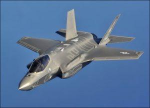 מטוסי הF-35. באדיבות חיל האויר האמריקאי צילום: Donald R. Allen