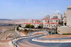 ההתיישבות ביהודה ושומרון. צילום: פלאש90