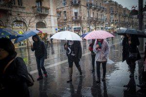 הגשם חוזר. צילום: יונתן סינדל/פלאש90