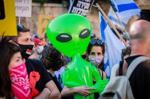 הליכוד: ערוץ 12 מעודד את הפגנות השמאל הקיצוני של לפיד ואיימן עודה