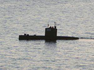 הצוללת החובבנית שבנה הדני פיטר מדסן - עליה נראה בפעם האחרונה העיתונאית השוודית קים וול, ביום היעלמה - ה- 10 לאוגוסט. צילום: רויטרס