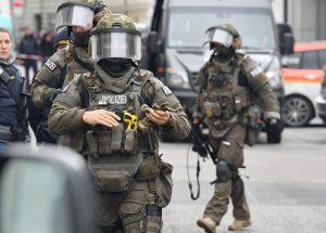 כוחות משטרה גרמנים. צילום: רויטרס