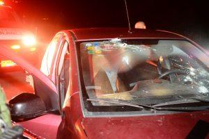 זירת הפיגוע בשומרון. צילום: מאור לביא/TPS