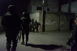 פעילות כוחותינו הלילה. צילום: דוברות המשטרה