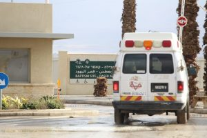 זירת הפיגוע בקאסר אל יאהוד. צילום: הלל מאיר, TPS