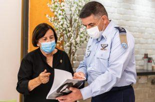 מפקד חיל האויר ערך פגישה מרגשת עם משפחות נרצחי טבח מינכן