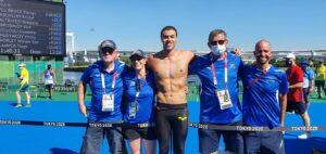 הישג שיא: מתן רודיטי סיים במקום הרביעי במקצה המים הפתוחים